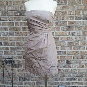 Exclusive  J.CREW  strapless mini dress sz 2